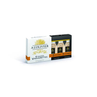 Box of 6 miniatures Mustard and Caesar - 6 x 20ml