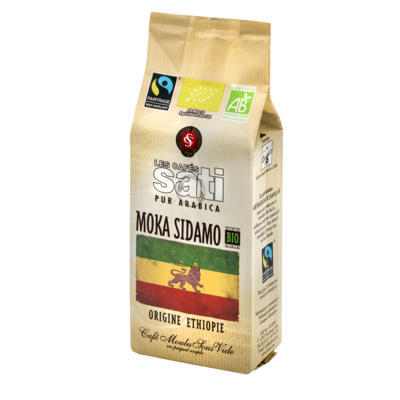 Café Sati Moka Sidamo organic fairtrade coffee ground 250g