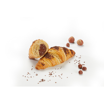 CROISSANT FILLED CHOCOLATE HAZELNUT 75G PURE BUTTER