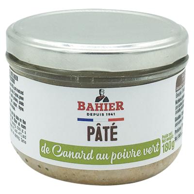 Duck pâté with green peppercorns 180g