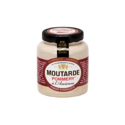 Espelette Pepper mustard Pommery® 100g