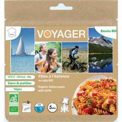 Organic italian style pasta with soya