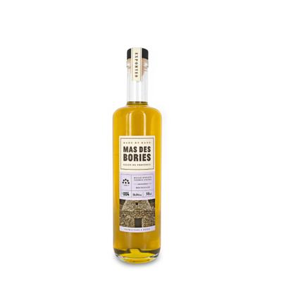 "Extra virgin olive oil , single-varietal "" BOUTEILLAN"", glass bottle 50cl"