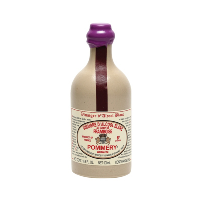 White alcohol vinegar 6° flavoured with raspberry syrup 50cl