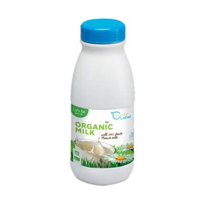 UHT Sterilized Organic Plain milk_1L/500ml Bottles & 200ml/1L Bricks