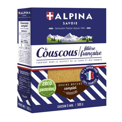 Wholegrain couscous
