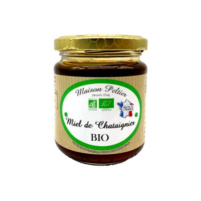 Organic Chestnut Tree Honey 250Gr - Maison Peltier