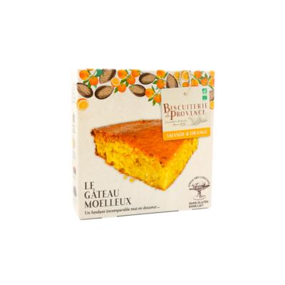Almonds and orange organic and gluten free cake