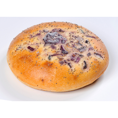Soft Deli Roll withPoppy Seeds and Onions 100g, fully-baked, deep-frozen