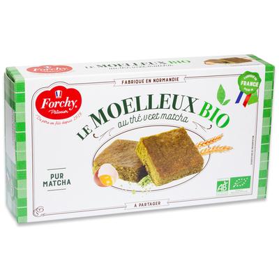 Organic Matcha tea cake