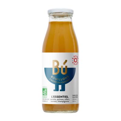 L'Essentiel - Bouillon de légumes bio 50cl / The Essential - Organic vegetable broth 50cl