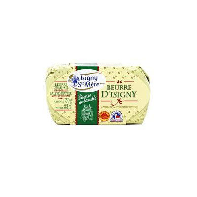 Isigny AOP Churned Butter salted 250g