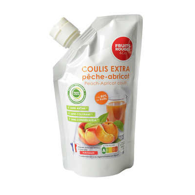 Ambiant Apricot-Peach coulis, 500g doypack