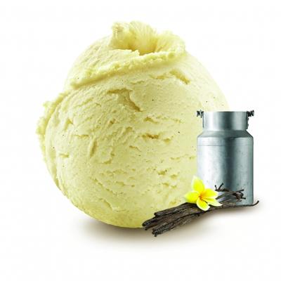 Vanilla Madagascar pods fresh milk ice cream