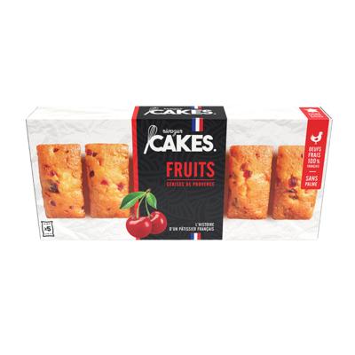 MINI FRUITS CAKES X5 150G