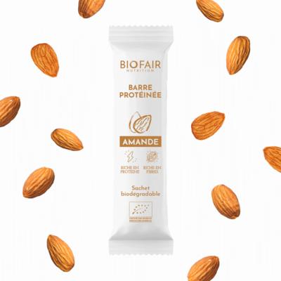 Organic protein bar - Almond