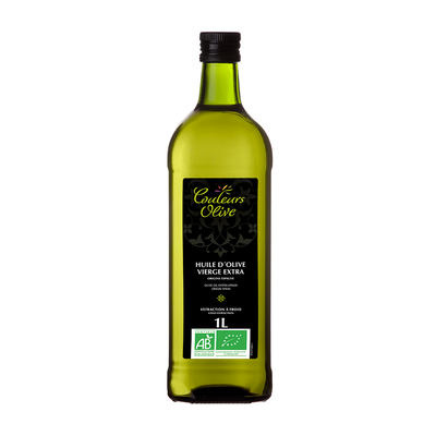 Cold extracted organic extra virgin olive oil