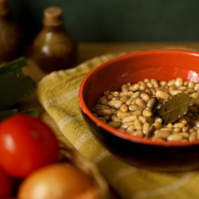 Flageolets with fresh aromatic herbs - Organic & Vegan - 400g