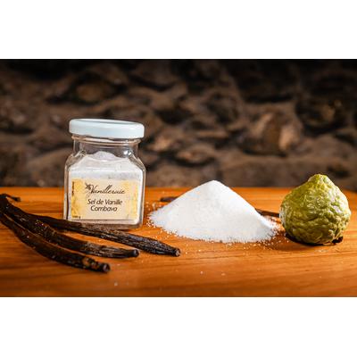 Vanilla-Combava salt