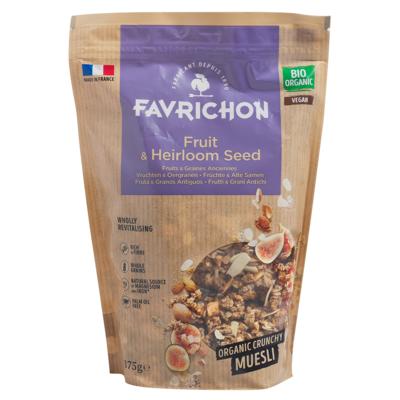 Fruit & Heirloom Seed Crunchy Muesli
