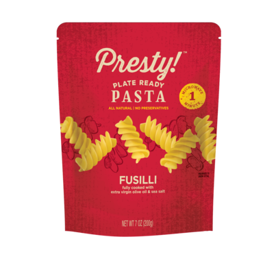 Presty! Ready-to-eat-meal Virgin olive oil & sea salt