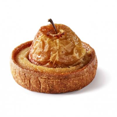 The apple in the tart