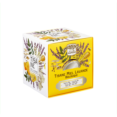 PROVENCE D'ANTAN HONEY LAVENDER ORGANIC HERBAL TEA