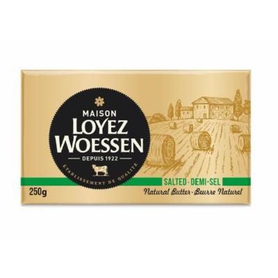 Maison Loyez Woessen 250g doux ou 1/2 sel