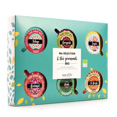 DISCOVERY SET OF 6 ORGANIC TEAS - Gourmet tea collection