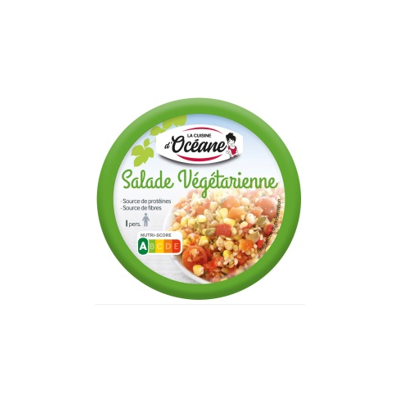 Shelfstable salads - Vegetarian salad