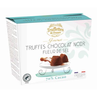 70% Cocoa Truffles with sea salt