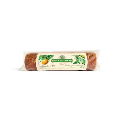 Roll of 6 Nonnettes (french cake) filled wtih orange jam - ORGANIC