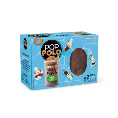 Pop Polo Granita Cola