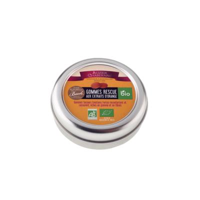 Gommes Dr Bach Orange Bio boite fer de 45g