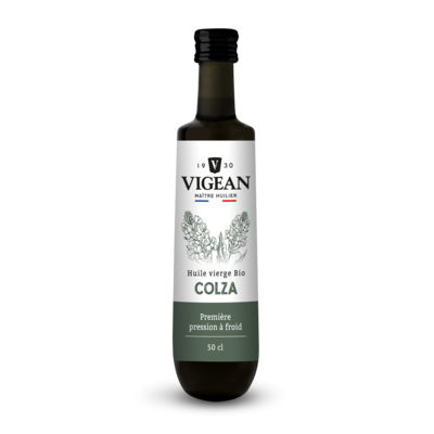 Organic 1st cold pressed rapeseed oil 500 ml