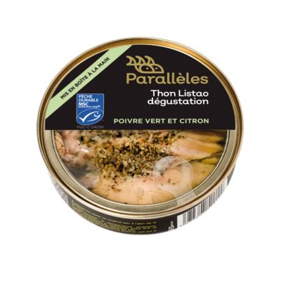 MSC Tuna, green pepper & lemon in rapeseed oil
