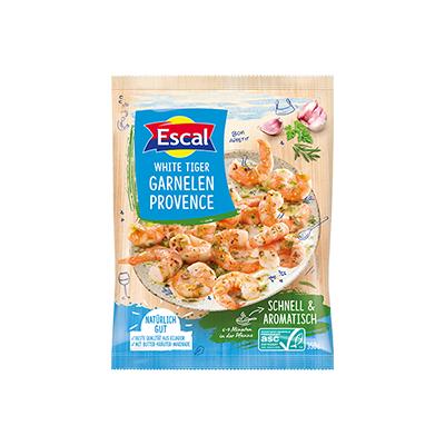 """ASC King Prawns """"Provençal"""", garlic and parsley, 300 g"""