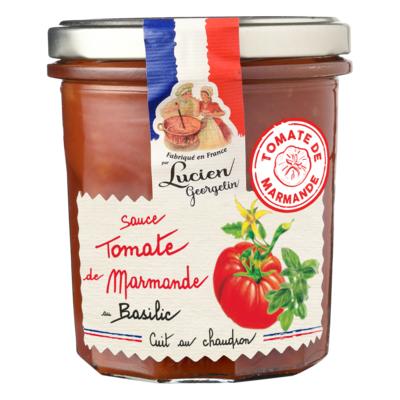 Basil and Marmande tomato sauce