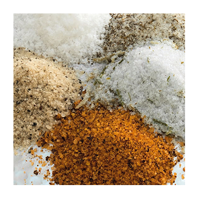Aromatised Salts from Camargue