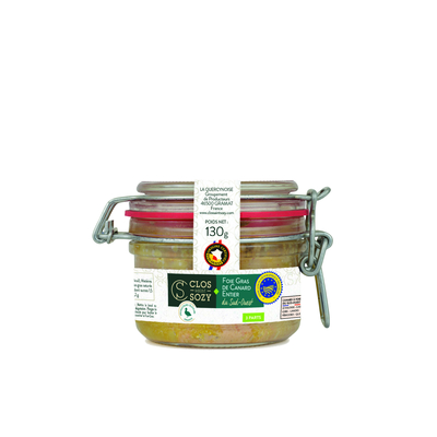 Whole duck foie gras preserved IGP Sud Ouest