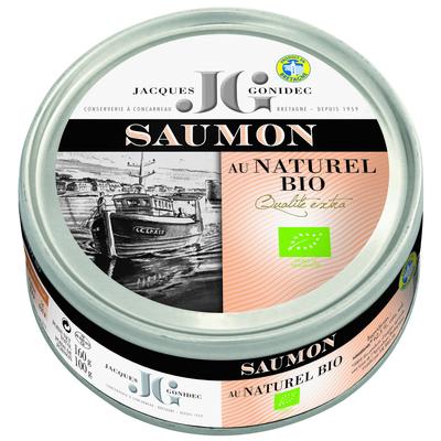 White salmon steak in brine - Organic 160g