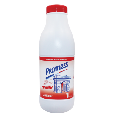 UHT Sterilized_Plain milk_1L/500ml/250ml Bottles
