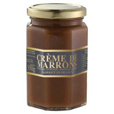 Chestnuts cream jar