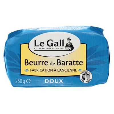Beurre de baratte doux Le Gall moulé 250g