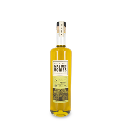 Organic extra virgin olive oil, glass bottle 50cl