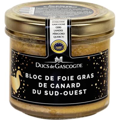 Bloc de foie gras de canard du Sud-Ouest 90g