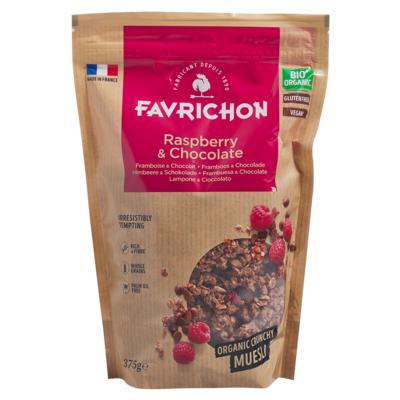 Raspberry & Chocolate Crunchy Muesli (gluten free)
