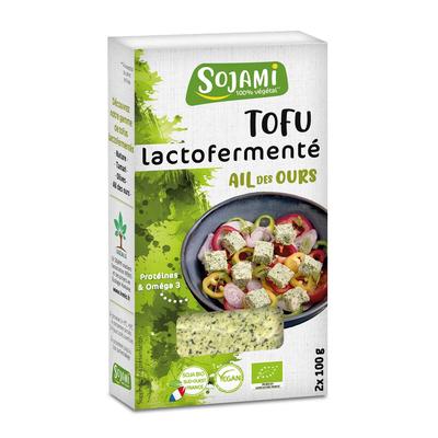 Lactofermented Tofu Wild Garlic