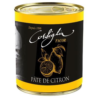 Candied lemon paste