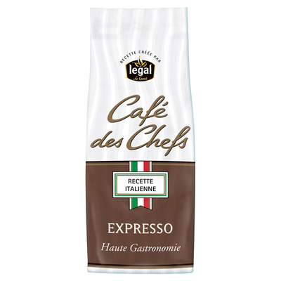 Café des Chefs EXPRESSO 250g grounded coffee pack